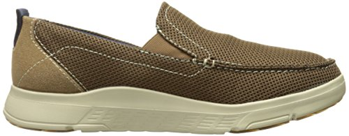 Skechers USA Men's Moogen Selden Slip-On Loafer Beige