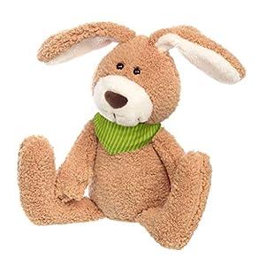 Sigikid 42366 Huberto Hummeltal - Conejo de Peluche (tamaño Grande), Color marrón