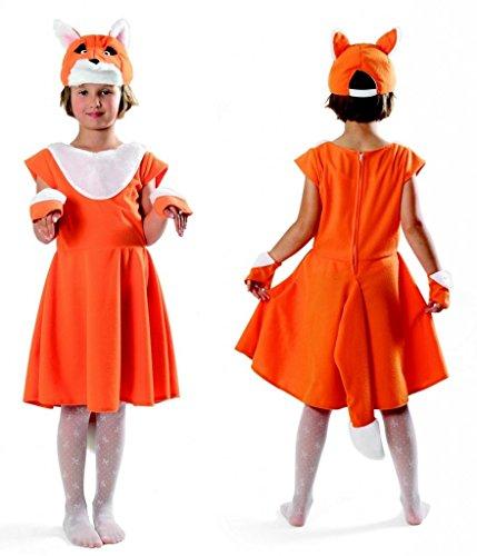 Fuchs Kostüm Mädchen (Fuchs Kostüm Mädchen - süße Füchsin)