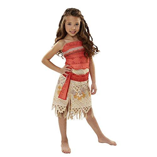 Mutter Tochter Disney Kostüm Und - Moana Vaiana-Abenteuer-Outfit (Kostüm in Kinder-Einheitsgröße)