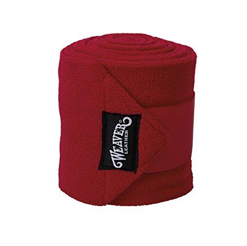 Weaver Leather Polo-Beinbandagen, 4er-Pack, rot, 4-Pack -