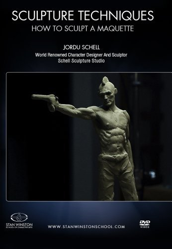 Sculpture Techniques - How to Sculpt a Humanoid Character Maquette: Learn the art of character maquette sculpture from one of the world's premiere creature designers. by Jordu Schell (Designer Winston)