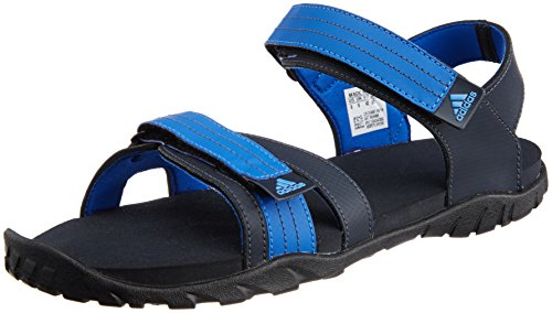 adidas Men's Adwen Night Navy, Blue Beauty and Black Athletic & Outdoor Sandals - 6 UK  available at amazon for Rs.2039