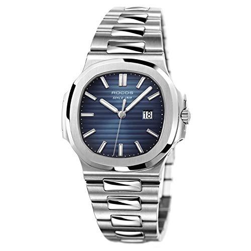 ROCOS Damen Armbanduhr Edelstahl Japanische Quarzwerk - R0139L