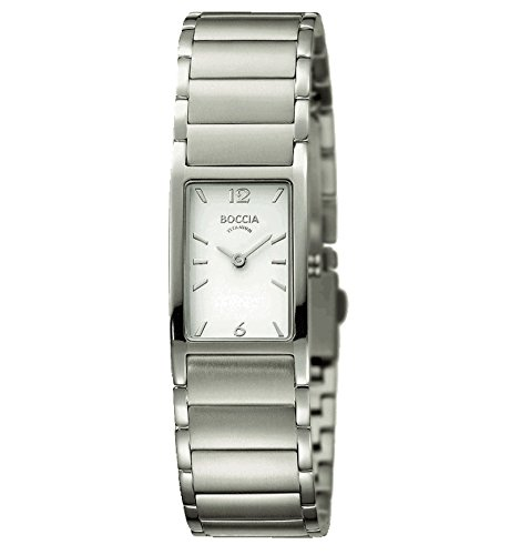 Boccia Reloj Analógico para Mujer de Cuarzo con Correa en Titanio 328