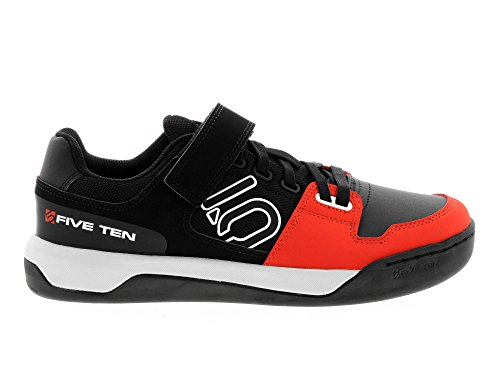 Five Ten MTB-Schuhe Hellcat Clipless Schwarz/Rot Black/Red