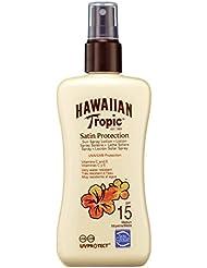 Hawaiian Tropic Satin Protection Sun Spray Lotion LSF 15, 200 ml