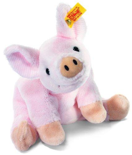 i Schwein liegend, 16 cm, rosa (Schwein Plüsch)