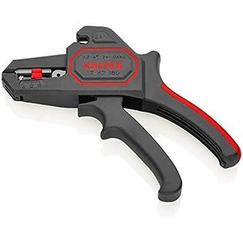 Knipex KP-1262180 Pinze Regolazione Automatica Pinza Spelacavi B 2187/3, Multicolore