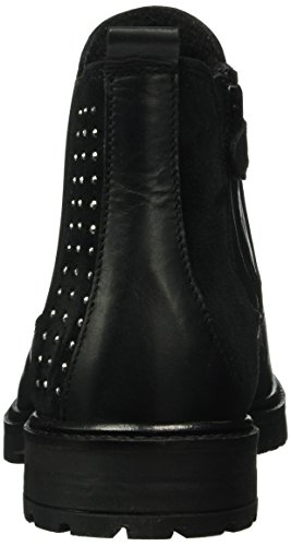Lepi 4112leq, Bottes courtes avec doublure chaude fille Noir - Schwarz (4112 C.01 Nero)