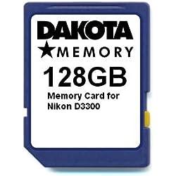 128GB Memory Card for Nikon D3300