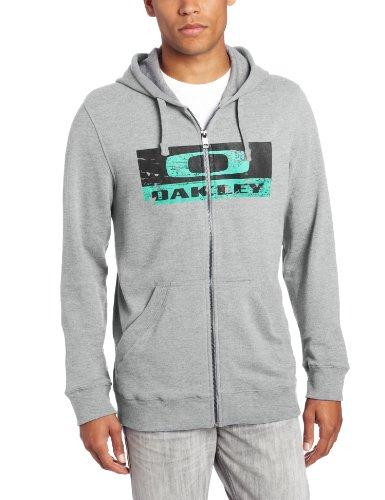 Oakley Herren Crackle Griffins Nest Fleece Hoodie - grau - Groß -