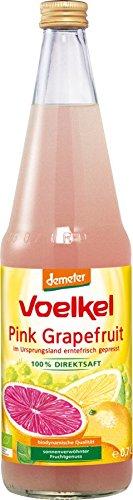 Voelkel Bio Pink Grapefruit - 100% Direktsaft (2 x 700 ml)
