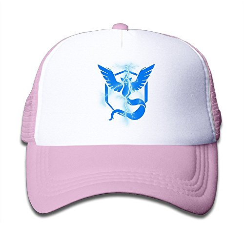 feruch-youth-children-kids-golf-pokemon-go-blue-team-baseball-cap-hat-snapback-black-pink