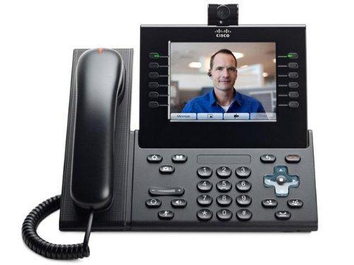 Cisco IP 9951(Bluetooth, Freisprechfunktion, System Telefon, IP-Telefon: IP aktiviert, Video-Telefon, Kamera) (zertifiziert aufgearbeitet)