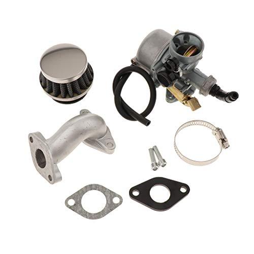 Almencla Carburador Minimoto de 19mm con Juntas 2 Tiempos para 50cc 70cc 90cc 110cc ATV