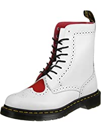 Dr. Martens Bentley II HRT White Red Venice&Smooth