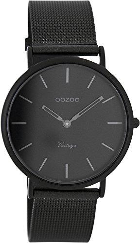 Oozoo Damenuhr Digital Quarz mit Edelstahlarmband – C7730