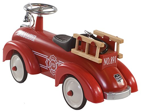 Retro Roller 0706114 - Laufauto Speedster Fire - 2