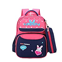 TREESTAR Colorful Multicolor Simple Children Students Adult Portable Oxford Cloth Waterproof Large Capacity Shoulder Portable Storage Bag Backpack Zipper Bag