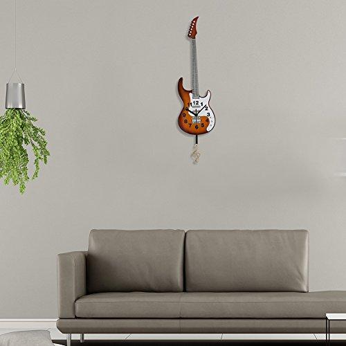 Imagen de giftgarden reloj de pared de  eléctrica reloj de péndulo clásico alternativa