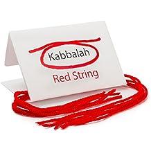 Pack de 5–Original Kabbalah Hilo Rojo mal de ojo pulsera de protección de la Tumba de Rachel