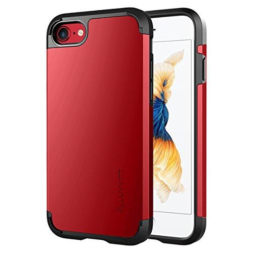 iPhone 7Coque, Luvvitt [Ultra Armour] Coque Meilleur Heavy Duty double couche absorbant les chocs Coque rigide pour Apple iPhone 7