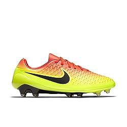 Nike Men's Magista Opus Fg Football Boots, Naranja (Naranja (Ttl Crmsnblck-vlt-brght Ctrs)), 9.5