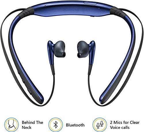 CartBug Wireless Bluetooth Earphones in-Ear Headsets | Headphones | Neckband | Hands Free with Mic | Calling Function | Music | Compatible with All Smart Phone (Blue) Image 3