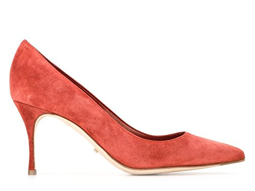sergio-rossi-womens-a43841mvim037635210-orange-suede-pumps