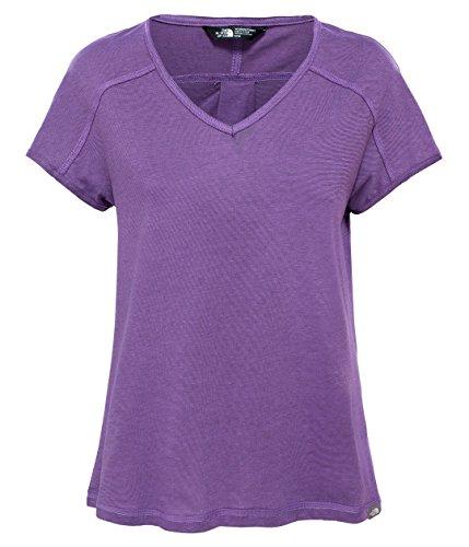 north-face-w-dayspring-s-s-camiseta-de-manga-corta-mujer-azul-blflwp-blkbrwst-m