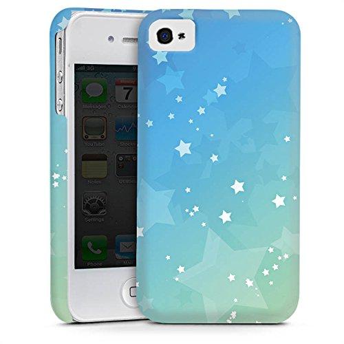 Apple iPhone 5s Housse Étui Protection Coque Petite étoile Étoiles Motif Cas Premium mat