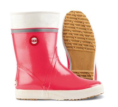 Nokian Footwear  Hai, Bottes Unisexe adulte Rouge - Rouge corail