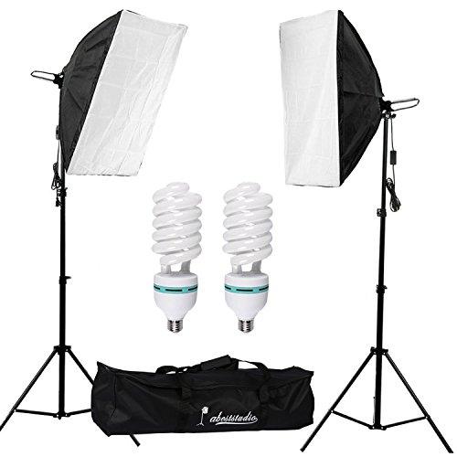 Abeststudio 2 x 135W Continuous Lighting Kit