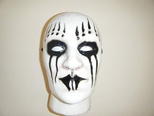 Wrestling Masks UK Slipknot Joey - Weiß - Ahig - Full Face Maske