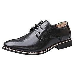 Uirend Cuero Zapatos Hombre...