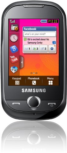 Samsung Corby S3650 Handy (Touchscreen, 2MP Kamera, MP3-Player) Romantic-pink Samsung Touch Mp3-player