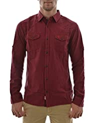 chemise lee cooper duster ml 5141 rouge