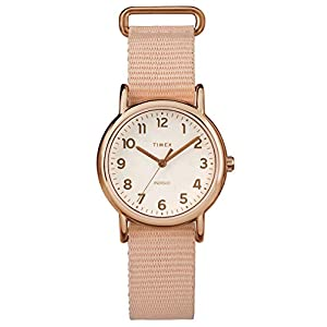 Timex Reloj Análogo clásico para Mujer de Cuarzo con Correa en Nailon