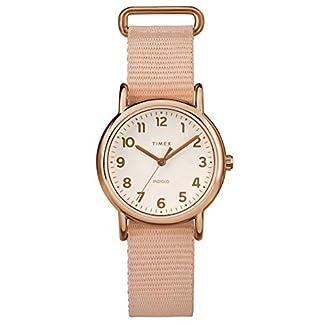 Timex Reloj Análogo clásico para Mujer de Cuarzo con Correa en Nailon TW2R59900