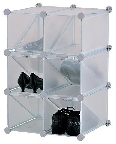 Casiers Modulable - Mondex INX405-00 Rangement à Chaussures Modulable avec