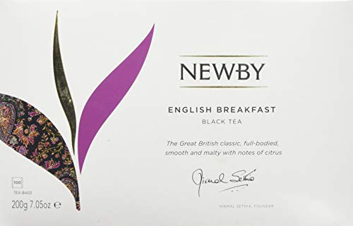 Newby Teas English Breakfast 100 Classic Teabags 200 g