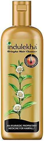 Indulekha Bringha Shampoo, Proprietary Ayurvedic Medicine for Hair Fall, 200ml