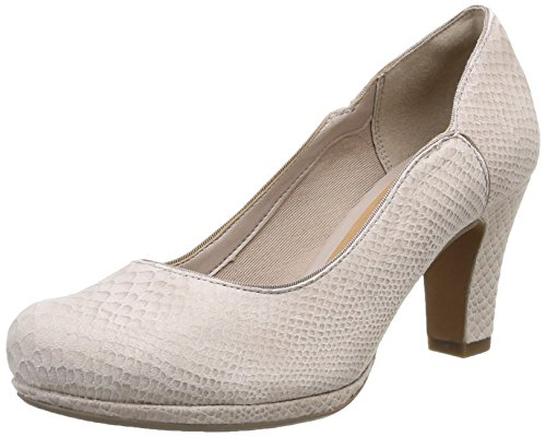 Clarks Chorus Nights, Damen Pumps, Grau (Shingle Leather), 39 EU