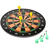 Civil Magnetic Dart Board Game With 6 Darts (34.5cms)