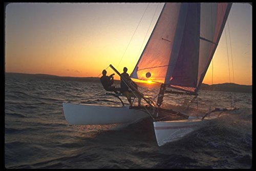 172031-sunset-streaking-on-a-hobie-21-camden-maine-a4-photo-poster-print-10x8