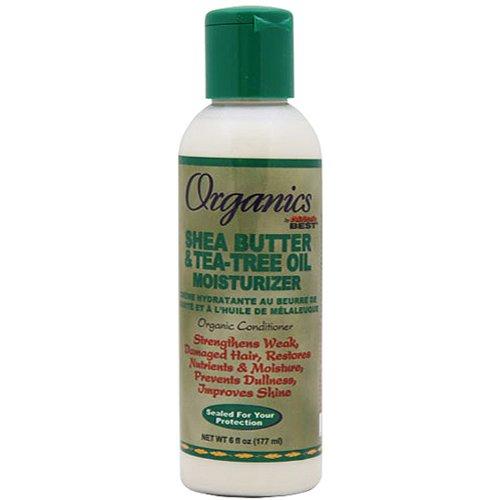 Africa's Best Organincs Shea Butter & Tea Tree Oil Moisturizer 175 ml (Lotionen) (Hair Butter Shea Lotion)