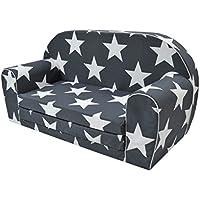 Sofá infantil MoMika con función de cama, mueble para dormir y jugar (0a3años)
