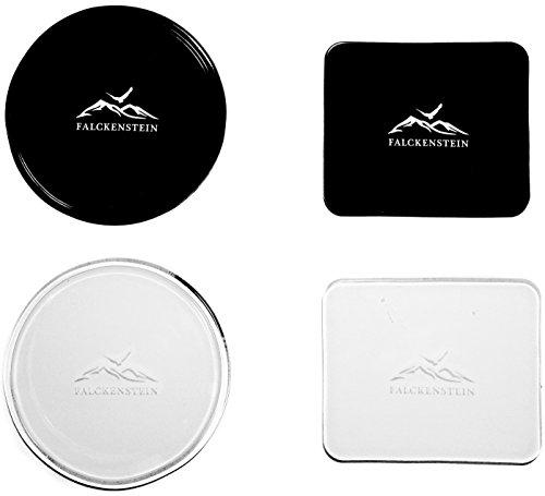 4er Universal Fixate Gel Anti-Rutsch-Pad • optimal für Auto-Armaturenbrett Ablage & Handy + Navi-Halterung • zuverlässiger Halt durch Nanotechnologie • 100% Sticky Anti-Slip Klebepad Test