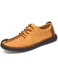55 Sport - Zapatos de cordones para hombre amarillo amarillo 75 cm